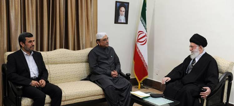 دیدار رئیس جمهور پاکستان و هیأت همراه